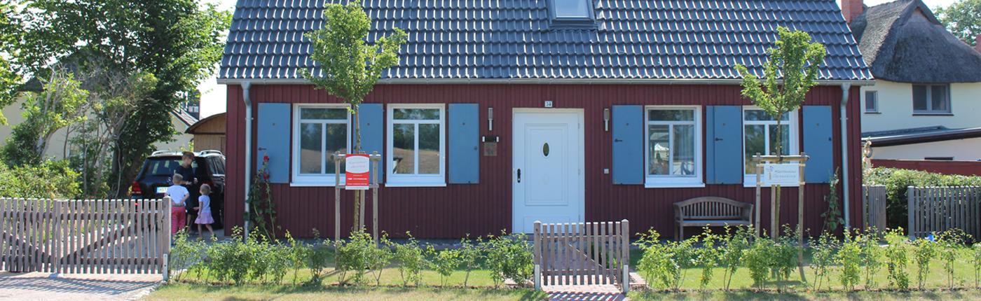Kapitanshaus Ahrenshoop Ostsee Ferienhaus Ferienwohnung Mieten